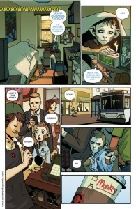 first page of Code Monkey Save World by Greg Pak