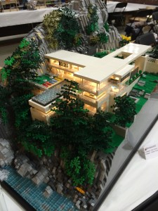 Architectural masterpieces made out of little plastic bricks.