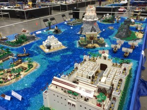 "The Odyssey (not My Geek Odyssey) done completely in LEGO... just say ""wow"" and wish you'd paid more attention when you read it in school."