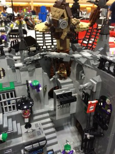 Just one park of the Arkham Asylum build.  The actual build was on rails so it could be spun and reveal something deaing with a number of major Bat crazies.