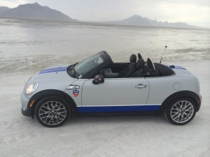 MINI Takes The States 2012- the somewhat damp salt flats.
