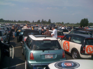 Yes, there are a lot of MINIs at MTTS. MTTS 2010